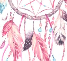 Dreamcatcher in Pink Sticker