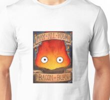 Studio Ghilbi Illustration: CALCIFER #3 Unisex T-Shirt