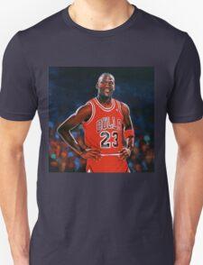Michael Jordan painting Unisex T-Shirt