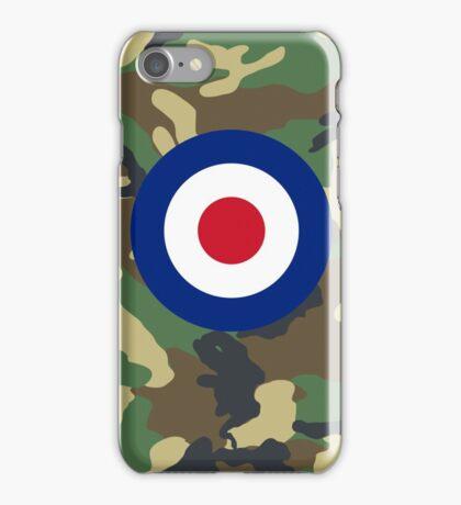 Camouflage RAF iPhone Case/Skin