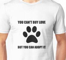 Adopt Love Unisex T-Shirt