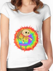 Hippie Opa  Women's Fitted Scoop T-Shirt