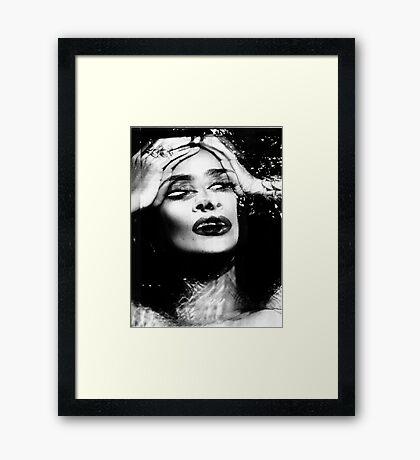 MURDER THEME #01 Framed Print