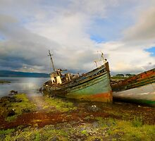 Fishing boats - Isle of Mull by eddiej