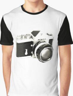 Nikon F SLR Camera Graphic T-Shirt