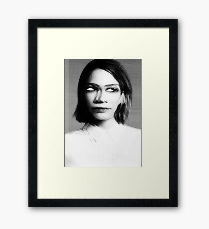 MURDER THEME #02 Framed Print