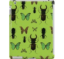 Green bugs iPad Case/Skin