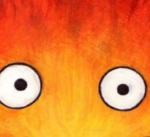 Studio Ghibli Illustration: CALCIFER #2 Sticker