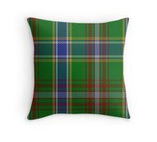 00372 Currie of Arran Clan/Family Tartan  Throw Pillow