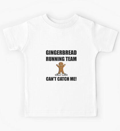 Gingerbread Running Team Kids Tee