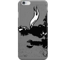 The LITTLE PRINCE and the FOX - stencil grey version iPhone Case/Skin