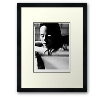 MURDER THEME #10 Framed Print