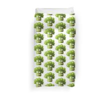 Funny Broccoli Pattern Duvet Cover