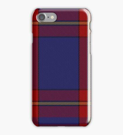 00377 Salvation Army Dress Tartan  iPhone Case/Skin