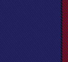 00377 Salvation Army Dress Tartan  Sticker