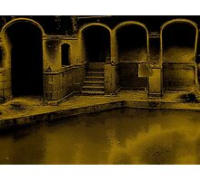 The Roman Bath Of Bath Photographic Print
