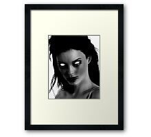MURDER THEME #18 Framed Print