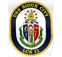 LCS-11 USS Sioux City Poster