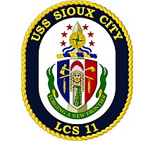 LCS-11 USS Sioux City Photographic Print