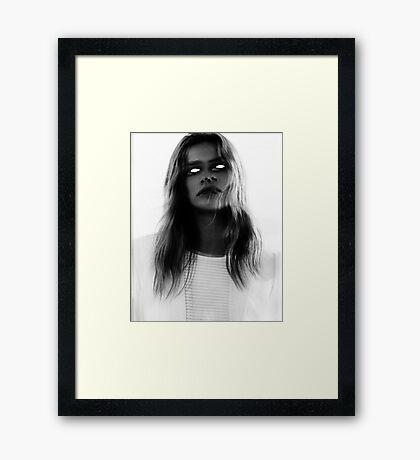 MURDER THEME #19 Framed Print