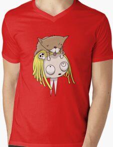 Lenore Mens V-Neck T-Shirt