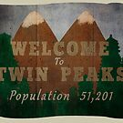 welcome to twin peaks by Kate H