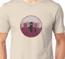 Different And Alone In Crowd Unisex T-Shirt