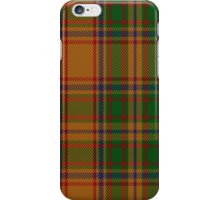 00386 Bird of Paradise Tartan  iPhone Case/Skin