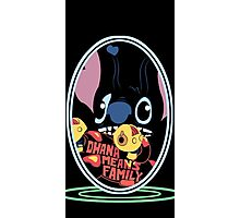 lilo and stitch-ohana means family Photographic Print