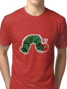The Very Hungry Caterpillar  Tri-blend T-Shirt