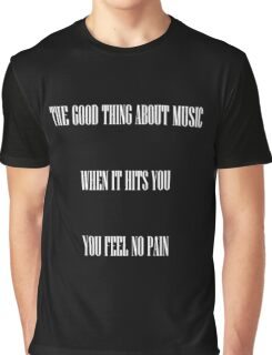 Music is my first love Graphic T-Shirt