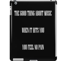 Music is my first love iPad Case/Skin