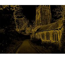 Medieval Church In Cockington Village Photographic Print