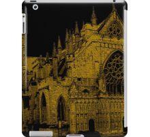 Exeter Church In Southwest England iPad Case/Skin