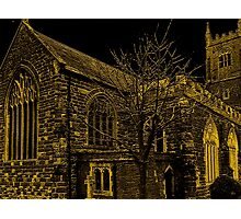 Medieval Church In Kenton Photographic Print