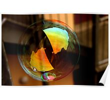 soap bubble utopia Poster