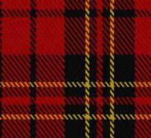 00394 Brodie Clan/Family Tartan  Sticker
