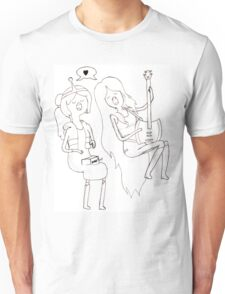 Princess Bubblegum and Marceline Unisex T-Shirt