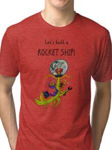 SPACE BUGS! Tri-blend T-Shirt