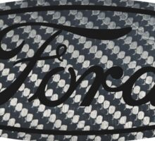 Ford Carbon Fiber Sticker