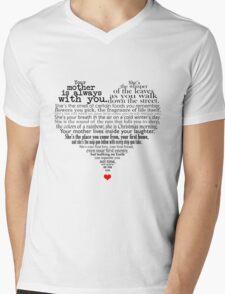 Mother's day poem Mens V-Neck T-Shirt