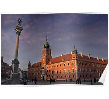 Royal Castle Warsaw Old Town Poster
