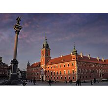 Royal Castle Warsaw Old Town Photographic Print