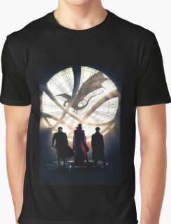 Benedict Cumberbatch 4 iconic characters Graphic T-Shirt
