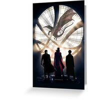 Benedict Cumberbatch 4 iconic characters Greeting Card