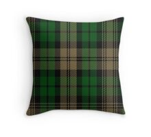 00410 Brown Watch Tartan Throw Pillow