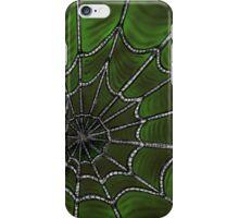 Deep Green Web iPhone Case/Skin