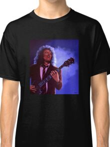 Angus Young of AC / DC painting Classic T-Shirt