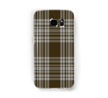 00422 Menzies Brown & White Tartan  Samsung Galaxy Case/Skin