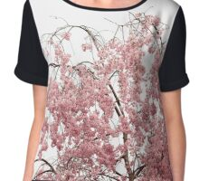 Blossoms on Top of a Cherry Tree Chiffon Top